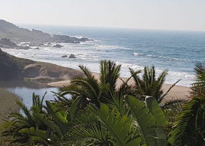 South Coast Accommodation Beach View