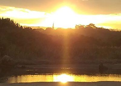 accommodation south coast sunset